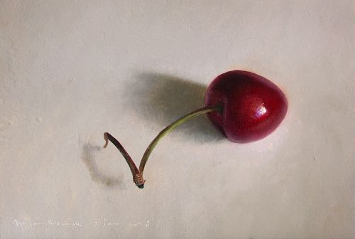 Still life with Cherry and window