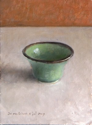 Study with chinese bowl