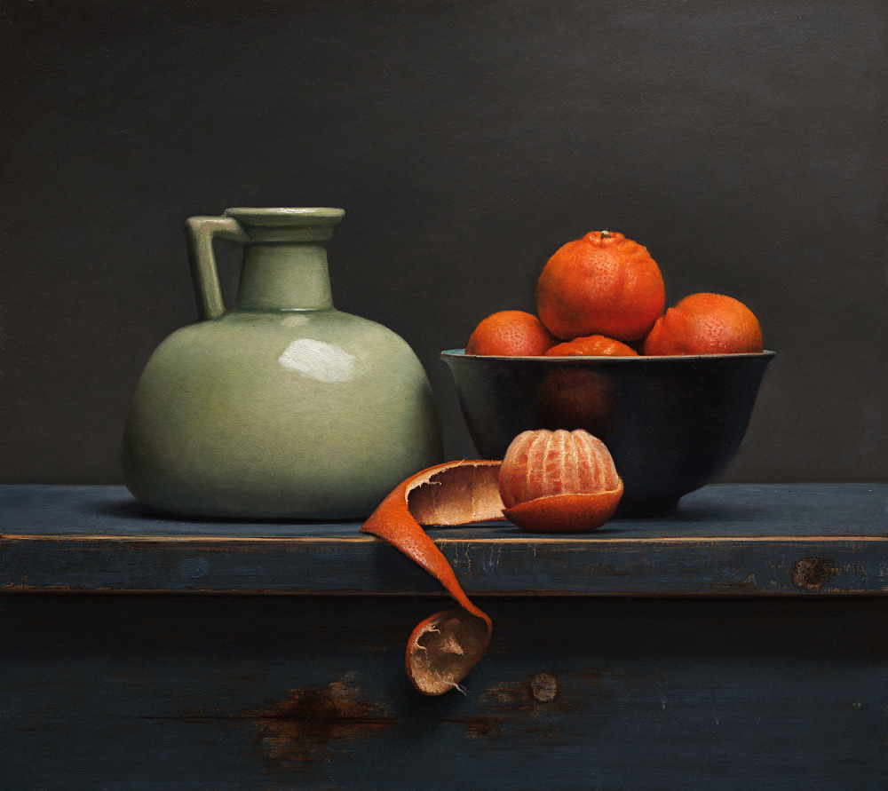 Traditional Clementine still life