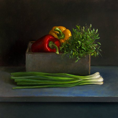 Still life with dill weeds, almost ready