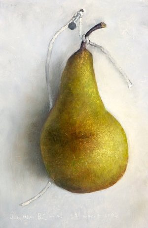 Pear on a rope